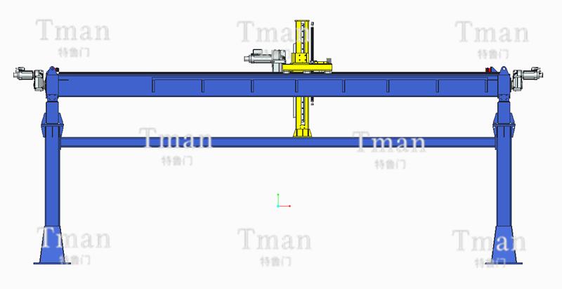 三轴桁架焊接机械手