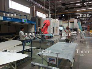 复合材料表面自动打磨工作站