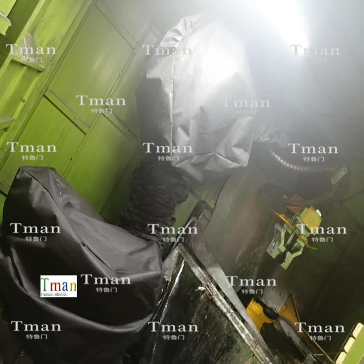 防水清洗机械人防护服