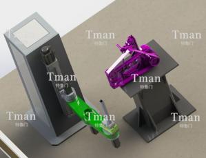 T型工件表面系统全自动打磨