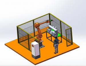 堆焊自动打磨工作站