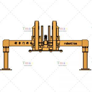 二轴桁架靶料上料机械手 载荷300kg 可定制