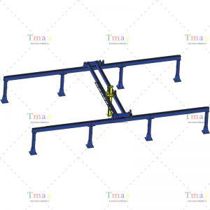 三轴桁架搬运机械手 载荷400kg 可定制