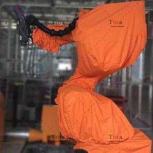 如何选择机器人防尘服